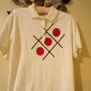 1970-80s Vintage Dany Taylor & Co. S/S Polo Size L